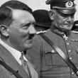 Adolf Hitler and Reichswehrminister von Blomberg — Stock Photo