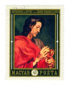 Stamp: Anthonis Van Dyck — Stock Photo