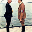 Hitler and Himmler - Stock Photo