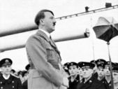 Adolf Hitler in Koeln — Stock Photo