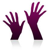 Hands Beautiful — Stock Photo