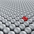 Royalty-Free Stock Photo: Stand out from the crowd