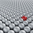 Stand out from the crowd — Stock Photo #4375691