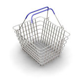 Shopping basket — Stock Photo