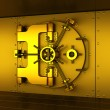 Gold vault — Stock Photo