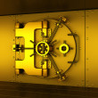Gold vault - Stock Photo
