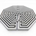 Maze — Stock Photo