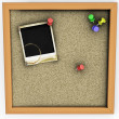 Cork board - Foto Stock