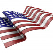 American flag — Stock Photo #4382130
