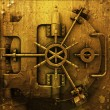 Royalty-Free Stock Photo: Grunge bank vault