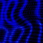 Digital code montage — Stock Photo #4383997