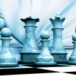 Chess pieces — Stock Photo #4384992