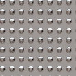Royalty-Free Stock Photo: Chrome rivets