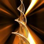 DNA strands — Stock Photo #4385557
