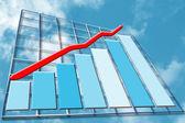 Beneficios en aumento — Foto de Stock