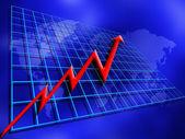 World profits — Stock Photo