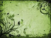 Floreale grunge — Foto Stock