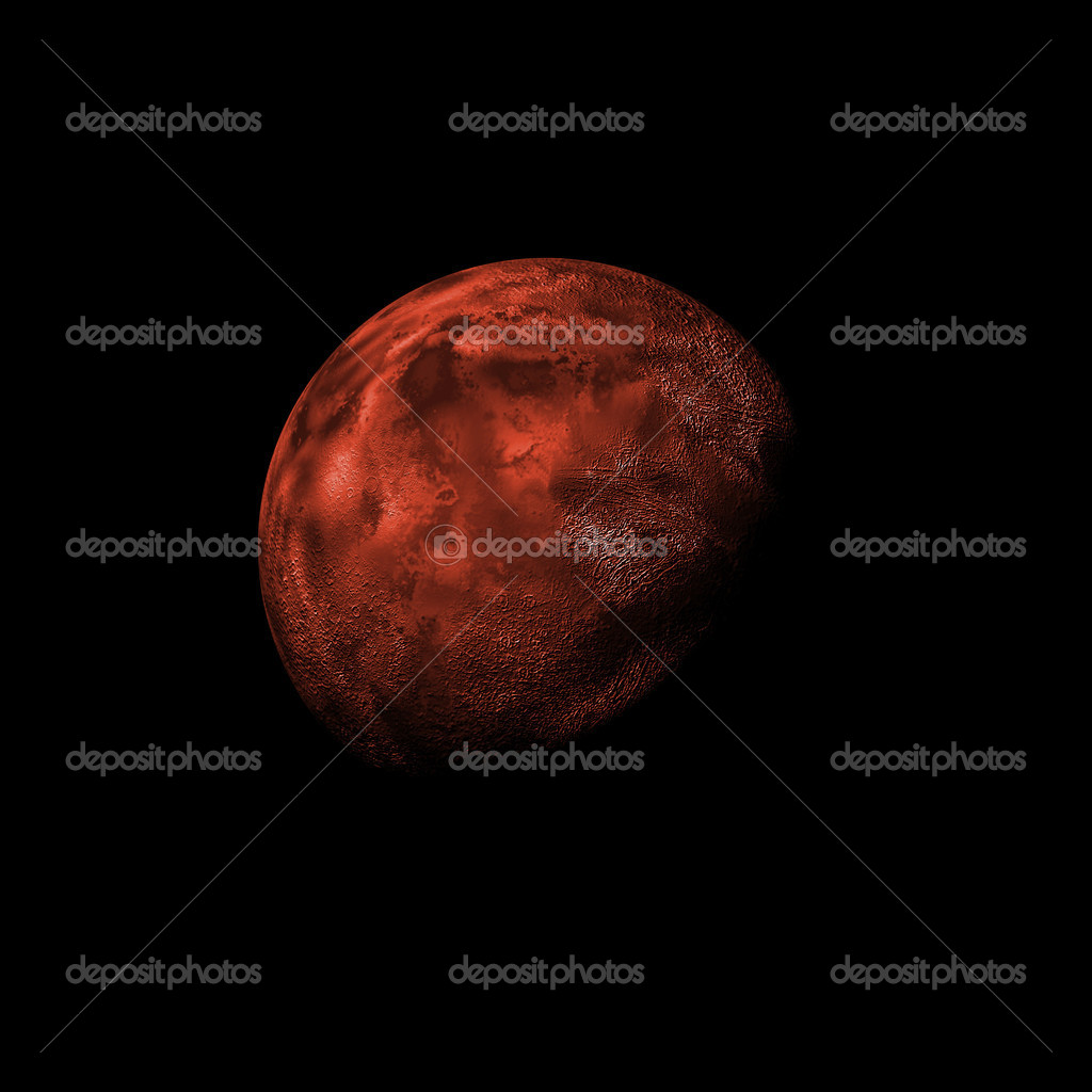Fictional planet background — Stock Photo #4385214