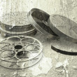 Grunge films reels — Stock Photo