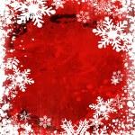 Grunge snowflakes — Stock Photo