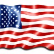 American flag — Stock Photo #4391746