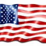 American flag — Стоковое фото