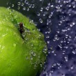 Refreshing apple — Photo