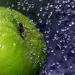 Refreshing apple — Stockfoto