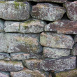 Dry stone wall background — Foto Stock