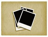 Grunge polaroids — Stock Photo