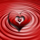 Abstract hearts — Stock Photo