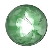 Shamrock ball — Stock Photo