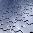 Jigsaw pieces — Stock Photo