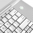 Royalty-Free Stock Photo: Laptop keyboard