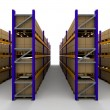 Racking - Stockfoto