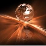 Abstract globe — Stock Photo #4407996