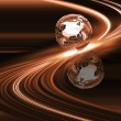 Stock Photo: Abstract globe