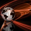 Abstract globe — Stockfoto