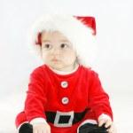 Baby santa — Stock Photo #4409494