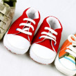 Baby shoes — Foto de Stock