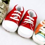 Sapatas de bebê — Foto Stock