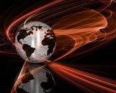 Abstract globe — Stock Photo