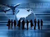 全球业务 — 图库照片