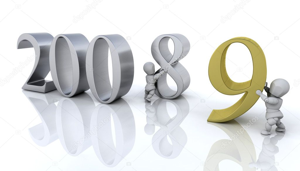 Bringing the new year in — Stock Photo #4406996