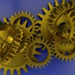 Stockfoto: Interlocking gears