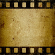 Grunge filmstrip — Stock Photo