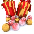 Christmas gift — Stock Photo #4414890