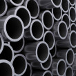 Stock Photo: Steel pipes