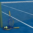 Royalty-Free Stock Photo: Tennis raquet and balls