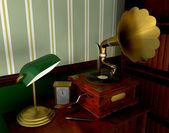 Gramophone — Stockfoto